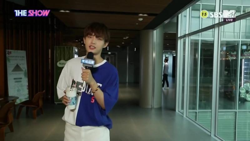 17.07.18 Отрывки из The Show с МС Ёнгуком 1