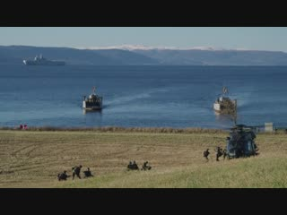 Trident juncture 2018 - french forces conduct amphibious training norway 26.10.2018