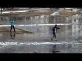 Преподаватель из Северодвинска отправил студентов в плюсовую температуру на лыжах