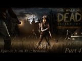 The Walking Dead The Game Season 2 - Episode 1 All That Remains - Part 4 Back in the Shed (1080p)
