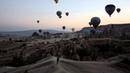 Каппадокия Турция полёт на воздушном шаре