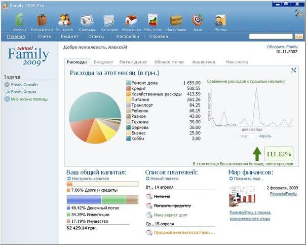 Family 2009 Pro crack,кряк,крек, серийник, serial, keygen с.