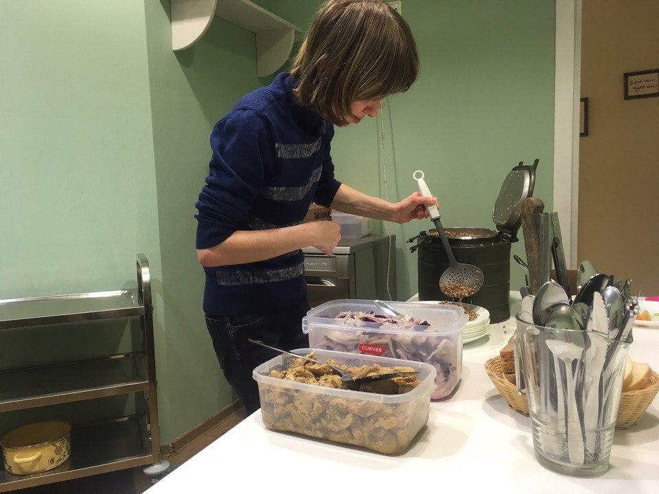 Работа на кухне