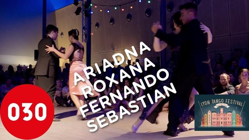 Ariadna, Roxana, Fernando and Sebastian – Canaro en París