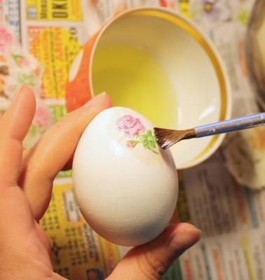 Оригинальная окраска яиц