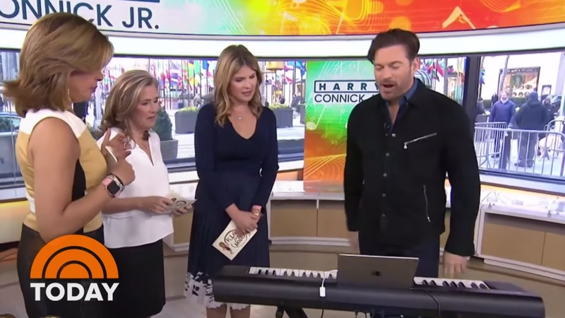 Harry Connick Jr. Teaches The Team To Play Piano With New Tech | TODAY