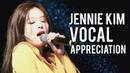 BLACKPINK JENNIE VOCAL APPRECIATION Singing Live Compilation