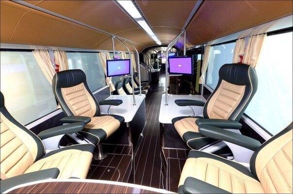 салон троллейбуса VIP