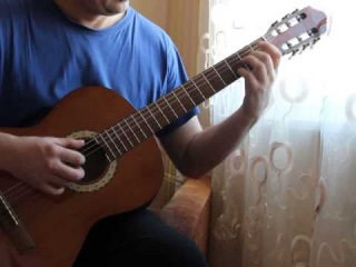 ������� ����� ��� ������. Classical guitar. Simple waltz.