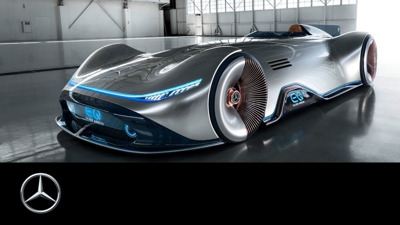 Mercedes-Benz Vision EQ Silver Arrow Show car world premiere