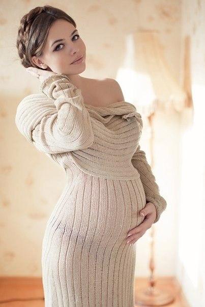 беременная красивая фото
