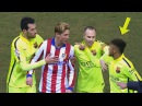 Messi, Neymar ● Fights Angry Moments  HD