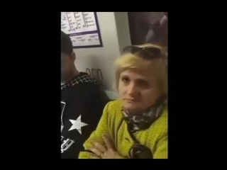 наглая тетка в метро [MDK DAGESTAN]