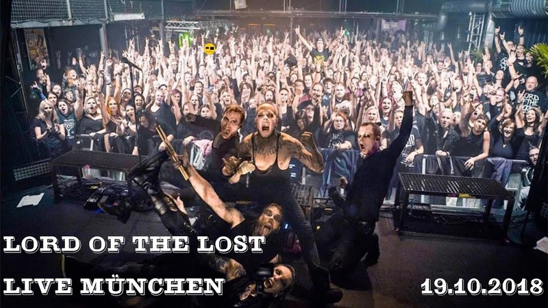 Lord of the Lost-LIVE-München19.10.2018