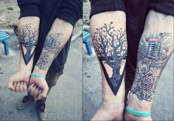 Значение тату ласточка - tattooha.com