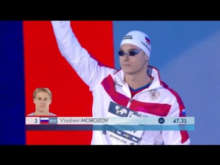 Swimming world cup budapest 2018 - 100m freestyle men final