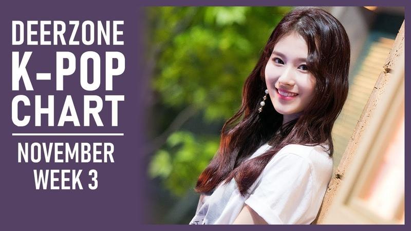 DEERZONE K-POP CHART   NOVEMBER 2018   WEEK 3