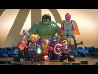 LEGO Marvel Новые Мстители - общий сбор - часть 1