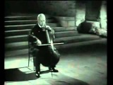 Pablo Casals  Bach Cello Solo Nr.1, BWV 1007 (8.1954)