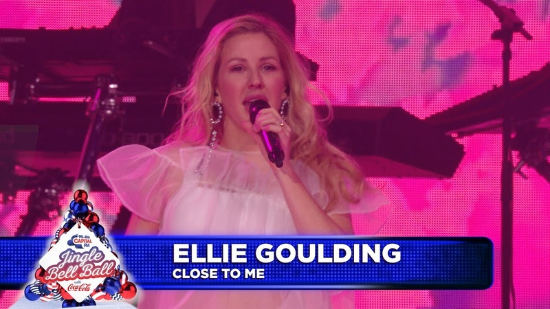 Ellie Goulding 'Close To Me' Live at Capital's Jingle Bell Ball 2018