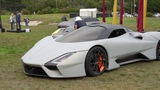 North American Debutof the SSC Tuatuara at the Pebble Beach Concours