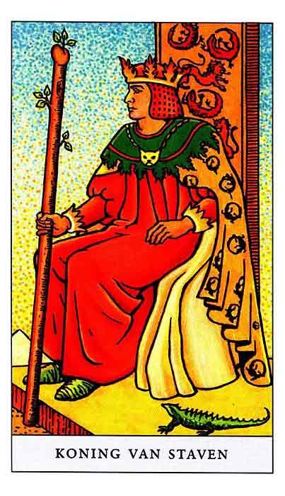 значение карты король жезлов таро тота толкование