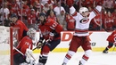 Brock McGinn tips home double overtime winner to eliminate Capitals in Game 7
