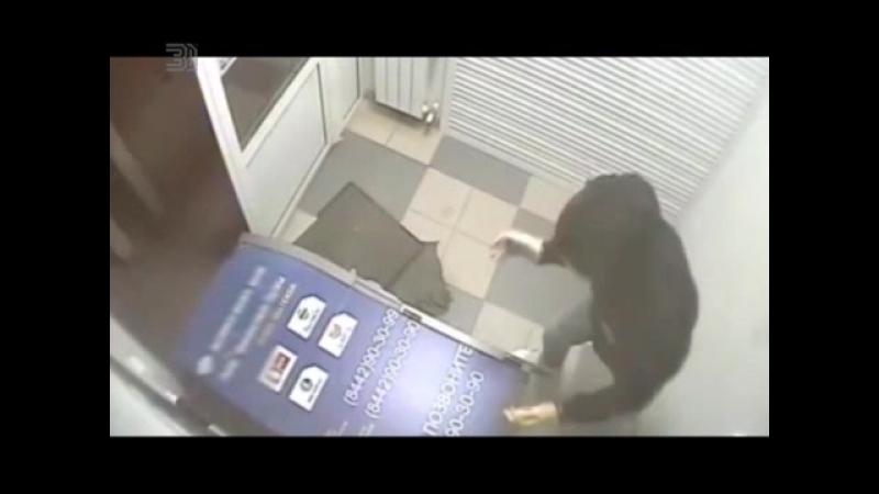 Грабителям из Волгограда пришлось уйти ни с чем. Они не смогли унести банковский терминал.