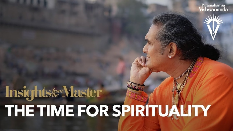 The Time For Spirituality Insights from the Master