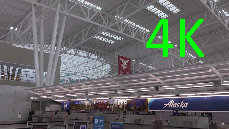 A 4K Tour of Indianapolis International Airport (IND)