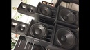 Tp TSA 4-1300 Basy BC i Górki RCF Granat Audio
