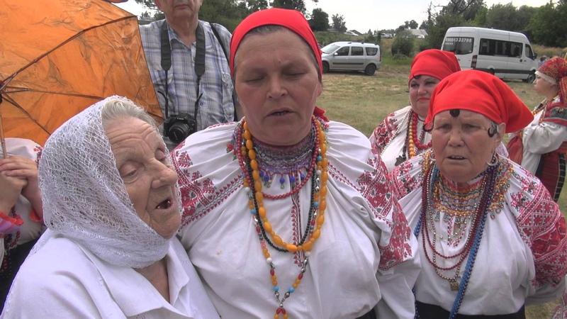 Село Россошь Репьевского района Воронежской области на Троицу 9 июня 2014