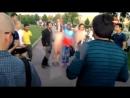 Голые девушки устроили порно-фотосессию в Парке Горького сегодня 28.07.17