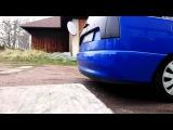 Seat Cordoba Vario 1.6 custom exhaust