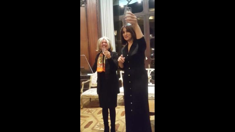 Monica Bellucci - Consolato Generale dItalia a Parigi 2018