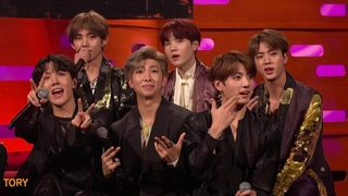 BTS perform IDOL (LIVE on BBC Graham Norton Show 12 October 2018)