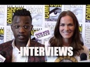 My Interviews with Trezzo Mahoro and Kelly Overton about 'VAN HELSING' Season 3
