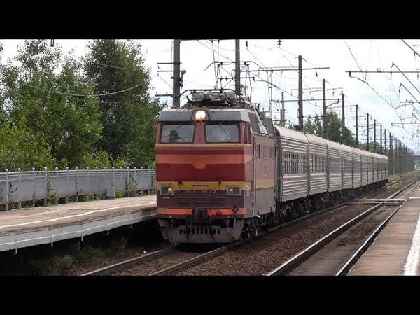 ЧС2Т-1039 с пассажирским поездом Кострома - Санкт-Петербург