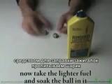 Делаем безопасный огненный шарик в домашних условиях