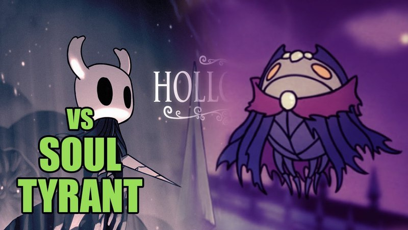 Hollow Knight - Soul Tyrant - Душегуб [Boss Battle, No Damage]