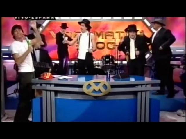 Natalia Oreiro con Los Tangueros - Videomatch