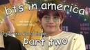 [Озвучка by Cara Linne ][КРЯК] BTS в Америке 2
