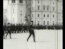 Подготовка актеров на роли юнкеров в Костромском военном училище