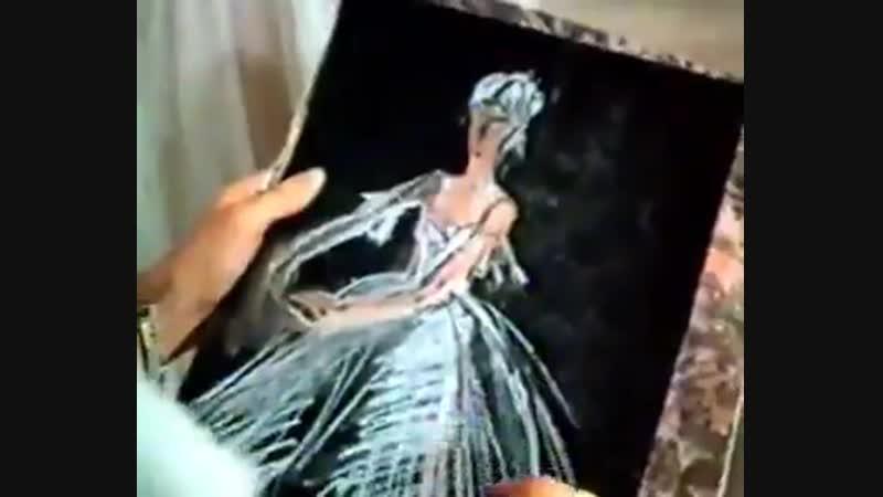 Рисование. Пастельная Живопись. (1988.г.)