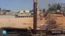 20.04.19 - Съёмка в репортаже Ливия аль-Ахрар с указанного места [1:15-1:24] подтверждает продвижение трипольских сил южнее Электрического треугольника в ходе контрнаступления на дороге Айн Зара.