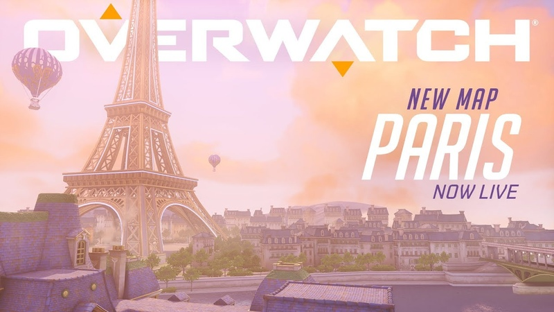 [NOW PLAYABLE] Paris   New Assault Map   Overwatch
