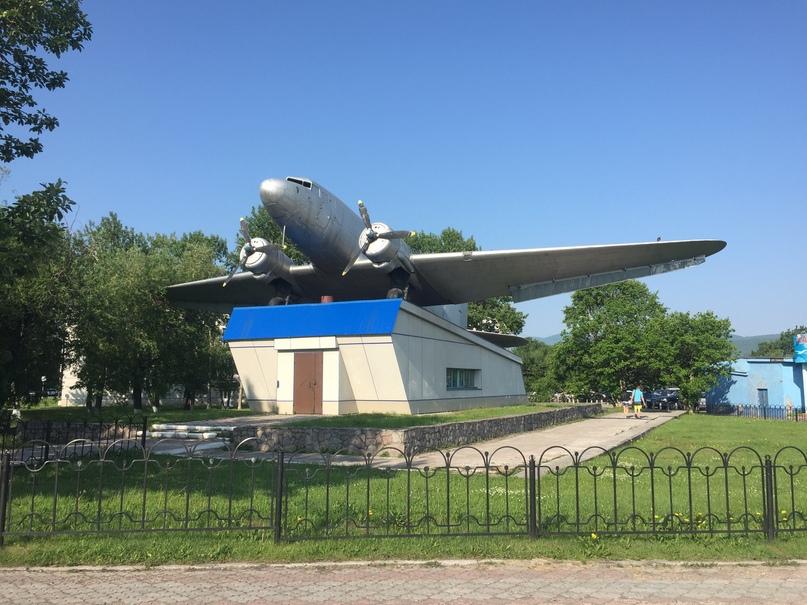 Отчет Камчатка. Ли-2. Памятник покорителям Дальнего Востока