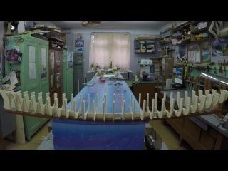 постройка модели корабля Queen Elizabeth 2