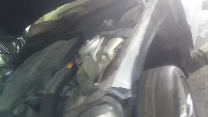 Восстановление Mercedes 5.5 AMG в автосервисе в Калуге Autolux Lounge