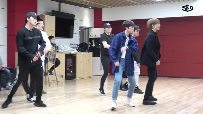 SF9 CHANI – Show! Music Core MC Debut Behind video